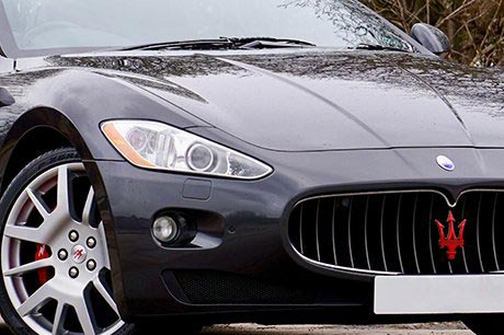 Maserati Car Polishing